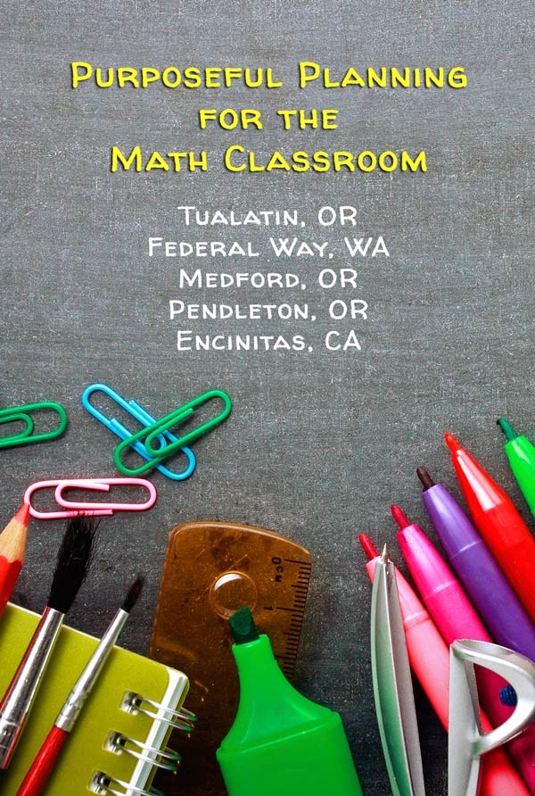 Purposeful Planning for the Math Classroom